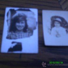 Fotografía antigua: 2 FOTOGRAFIAS ANTIGUAS... Lote 20548172