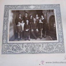 Fotografía antigua: FOTOGRAFIA RETRATO DE FAMILIA POR FOTOGRAFO DE TALAVERA . Lote 20640676