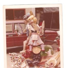 Fotografía antigua: VALENCIA. FALLA INFANTIL AÑO 1972. Lote 26481241