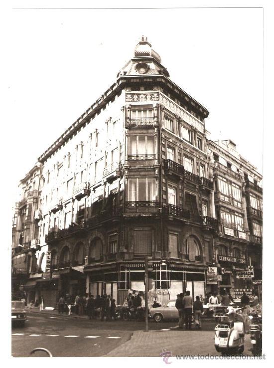 VALENCIA. EDIFICIO MODERNISTA EN LA PLAZA DE LA REINA. AÑOS 60 (Fotografía - Artística)