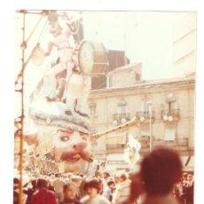 Fotografía antigua: FALLA CONVENTO JERUSALEN. 2º PREMIO AÑO 1982. Lote 22263508