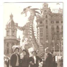 Fotografía antigua: VALENCIA. FALLA PLAZA DEL CAUDILLO AÑO 1965. Lote 26780911