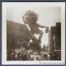 Fotografía antigua: FALLA CONVENTO JERUSALEN AÑO 1974. 2º PREMIO. LEMA: FENT L´INDI