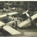 Fotografía antigua: (FOT-32)FOTOGRAFIA AEROPLANOS PRINCIPIOS DE SIGLO (16 X 12 CM.). Lote 24831747