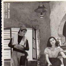 Fotografía antigua: FOTOGRAFIA DE OBRA DE TEATRO - TEATRO ROMEA 1948 - FOTO POSTIUS - BARCELONA - MEDIDAS 12 X 8 CM.. Lote 25676383