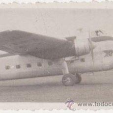 Fotografía antigua: FOTOGRAFIA AVIONETA AÑOS 1950-60. Lote 27416730