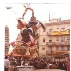 Fotografía antigua: VALENCIA. 2º PREMIO AÑO 1985. FALLA CONVENTO JERUSALEN. Lote 27456049