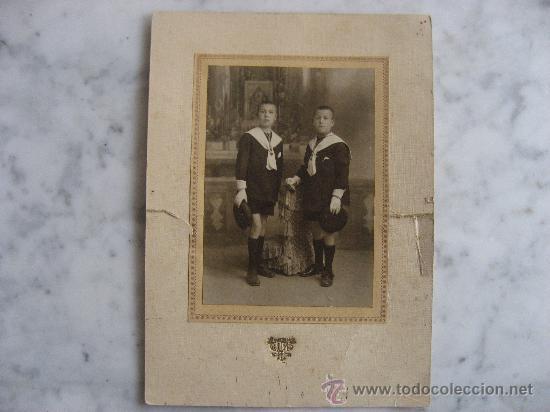 INTERESANTE Y ARTISTICA FOTO DE COMUNION,J.LLOPIS,VALENCIA. (Fotografía - Artística)