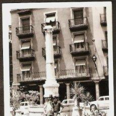 Fotografía antigua: TERUEL PLAZA DEL TORICO AÑO 1967. Lote 26591302