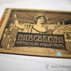 Fotografía antigua: 1990- BONITO ÁLBUM FOTOGRÁFICO,' BARCELONA ARTÍSTICA É INDUSTRIAL' AÑO 1918. Lote 27887165