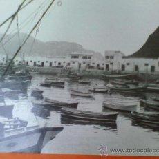 Fotografía antigua: ANTIGUA FOTOGRAFIA PUERTO DE LAREDO. BLANCO Y NEGRO. 24 X 30 CM. ORIGINAL.. Lote 28221272