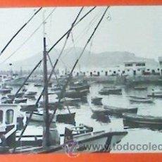 Fotografía antigua: ANTIGUA FOTOGRAFIA PUERTO DE LAREDO. BLANCO Y NEGRO. 24 X 30 CM. ORIGINAL. Lote 28225660