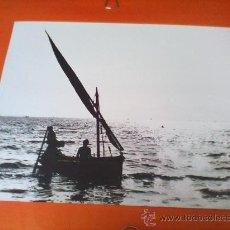 Fotografía antigua: ANTIGUA FOTOGRAFIA PUESTA SOL¿LAREDO? . ORIGINAL EN BLANCO Y NEGRO. 24 X 30 CM.. Lote 28226351