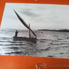Fotografía antigua: ANTIGUA FOTOGRAFIA ¿LAREDO?, EN BLANCO Y NEGRO, ORIGINAL, MEDIDAS: 24 X 30 CM. Lote 28226370