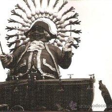 Fotografía antigua: FALLA DE VALENCIA. PLAZA DEL MERCADO AÑO 1970. LA MARCHA DE LA CIUDAD. Lote 28861805