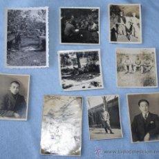 Fotografía antigua: LOTE FOTOS JAPONESAS DE ÉPOCA. Lote 28928647