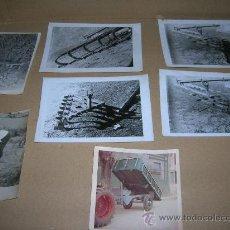 Fotografía antigua: 7 ANTIGUAS FOTOGRAFIAS AGRICOLAS. - MIDEN ENTRE 9 X 9 CM. Y 9 X 13 CM... Lote 29026711