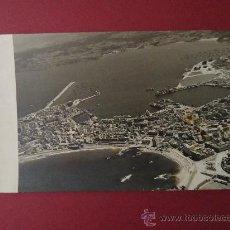Fotografía antigua: A CORUÑA. FOTOGRAFIA AEREA TAMAÑO 14,5X21,5CM. AÑO 1965. Lote 32562793