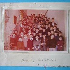 Fotografía antigua: VALLADOLID - FOTOGRAFIA COLEGIO CONSTANZA MARTIN QUIJADA (SAN PEDRO REGALADO) - CURSO 1967-68 - VER. Lote 29457105