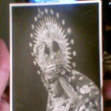 Fotografía antigua: FOTO FOTOGRAFIA VIRGEN BARATILLO PIEDAD FOTO MARIO MARIOS . Lote 29712871