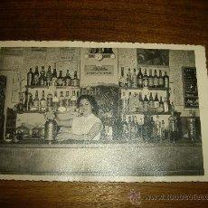 Fotografía antigua: FOTO DE BAR - SEÑORITA CAMARERA AÑOS 50 ENVIO GRATIS . Lote 30094027