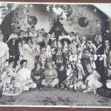 Fotografía antigua: ANTIGUA FOTOGRAFÍA : ACTORES / CARNAVAL ? . Lote 30114736