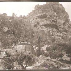 Fotografía antigua: ERMITA DE BRUGUÉS I CASTELL DE L´ARAMPRUNYÀ ANY1950. Lote 30561326