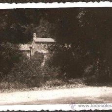 Fotografía antigua: SANTA EUGENIA.DESDE LA CARRETERA. ANY 1954. Lote 30734491
