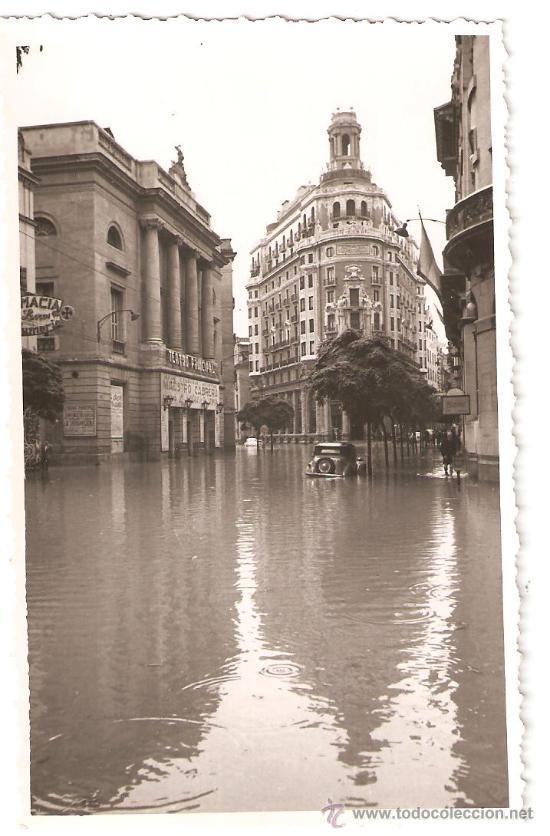 Valencia 1957 inundaciones banco de valencia vendido for Teatro principal valencia