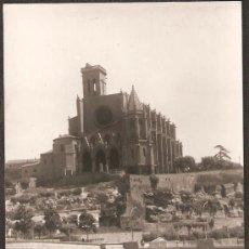 Fotografía antigua: MANRESA. LA SEU I PONT NOU SOBRE EL CORDONER. ANY 1966. Lote 30832331