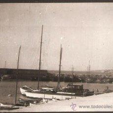 Fotografía antigua: ARENYS DE MAR. EL PORT. ANY 1955. Lote 30872876