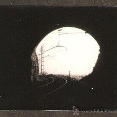 Fotografía antigua: ARENYS DE MAR. INTERIOR DEL TUNEL ANY 1955. Lote 30960549