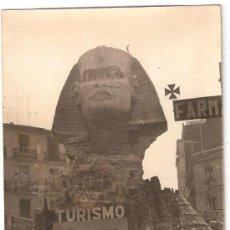 Fotografía antigua: VALENCIA. FALLAS AÑO 1966. 2º PREMIO. CONVENTO JERUSALEN. TITULO: TURISME.. Lote 31233448