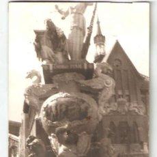 Fotografía antigua: VALENCIA. FALLA PLAÇA DEL MERCAT. AÑO 1966. Lote 31242112