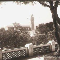 Fotografía antigua: CALELLA. PARC. ANY 1962. Lote 31255897