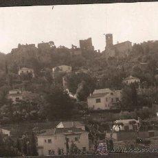 Fotografía antigua: GELIDA. VISTA DEL CASTELL. ANY 1964. Lote 31287002