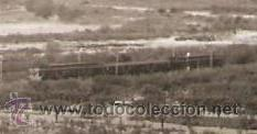Fotografía antigua: PANORAMA VENINT DE CASTELLBISBAL, AMB TREN. ANY 1962 - Foto 2 - 31295879