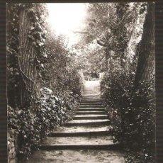 Fotografía antigua: MONTJUIC. ESCALA PROP LA FONT DEL GAT. ANY 1927. Lote 31546901