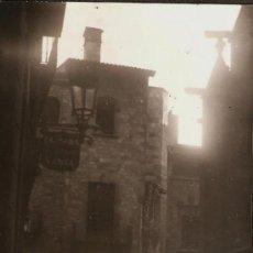 Fotografía antigua: BARCELONA. CARRER DE LA PIETAT. ANY 1962. Lote 31649152