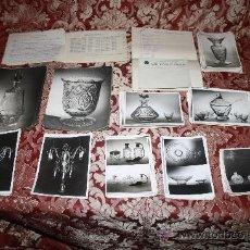 Fotografía antigua: COMPLETO ARCHIVO FOTOGRÁFICO DE LA CASA 'CRISTALARS' DE BARCELONA - DOCUMENTADO - AÑOS 30-50. Lote 31792348