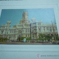 Fotografía antigua: FOTO EDIFICIO CORREOS MADRID. Lote 31942024