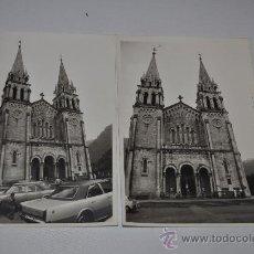 Fotografía antigua: FOTOS IGLESIA DE COVADONGA ASTURIAS. Lote 32022892