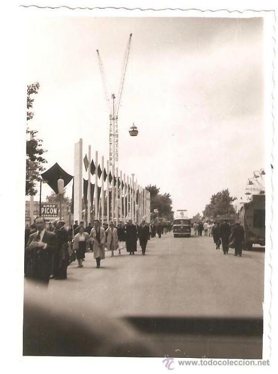 EXPOSICION INTERNACIONAL DE BRUSELAS 1958. PARQUE ATRACCIONES. (Fotografía - Artística)