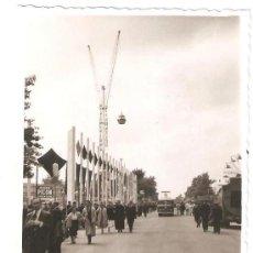 Fotografía antigua: EXPOSICION INTERNACIONAL DE BRUSELAS 1958. PARQUE ATRACCIONES. . Lote 31961817
