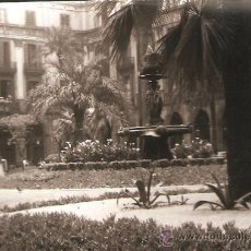 Fotografía antigua: BARCELONA. PLAÇA REIAL. ANY 1962. Lote 32109314
