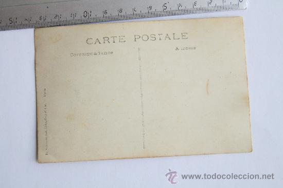 Fotografía antigua: antigua foto tarjeta postal paris 3 niñas de marineritas con muñeca fotografia - Foto 2 - 32140064