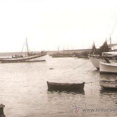 Fotografía antigua: ARENYS DE MAR. ARRIVADA DE PESCA. ANY 1962. Lote 32190440