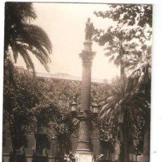Fotografía antigua: BARCELONA. PLAÇA MEDINACELI. ANY 1962. Lote 32313569