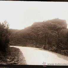 Fotografía antigua: CASTELLBISBAL. ERMITA DE SANT VICENS DES DE LA CARRETERA. ANY 1962. Lote 32376711