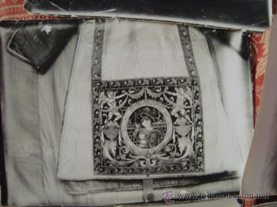Fotografía antigua: antiguas fotografias de antiguos bordados religiosos, - Foto 12 - 32505776